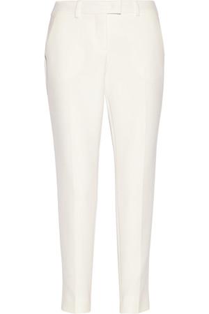 纯棉绉纱锥形九分裤