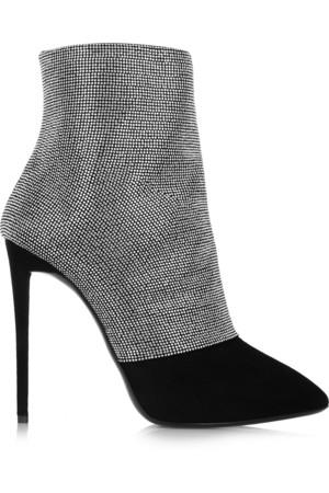 Olinda 铆钉绒面革靴子