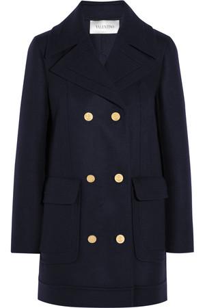 羊毛混纺水手短外套
