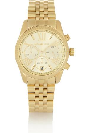 Lexington 金色不锈钢计时腕表