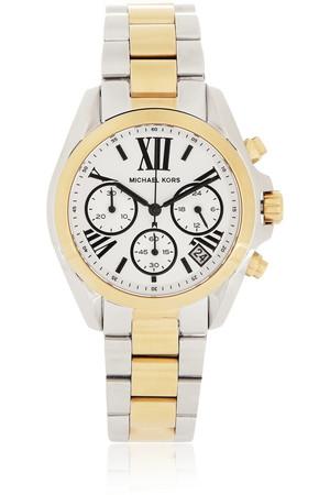 Bradshaw 金色和银色不锈钢计时腕表