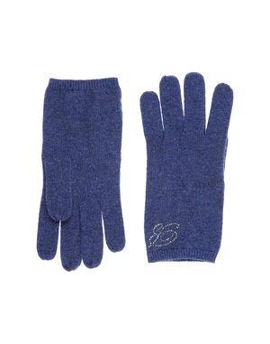 蓝色 BLUMARINE 手套
