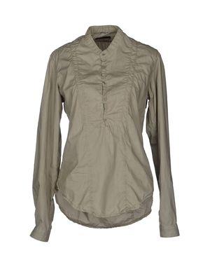 沙色 D.A. DANIELE ALESSANDRINI 长袖衬衫