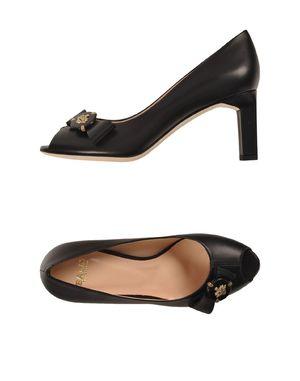 黑色 BALLY 高跟鞋