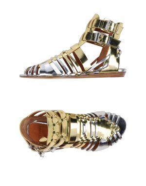 金色 GIVENCHY 凉鞋