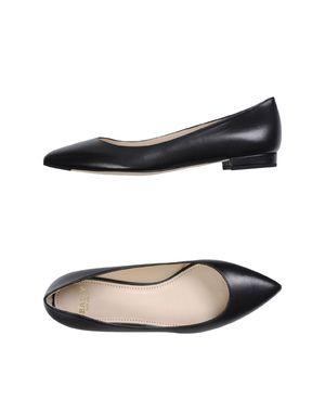 黑色 BALLY 芭蕾平底鞋