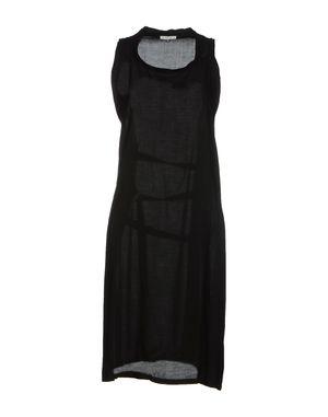 黑色 ANN DEMEULEMEESTER 及膝连衣裙