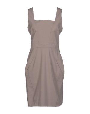 鸽灰色 D.A. DANIELE ALESSANDRINI 短款连衣裙