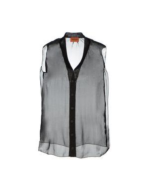 黑色 MISSONI Shirt