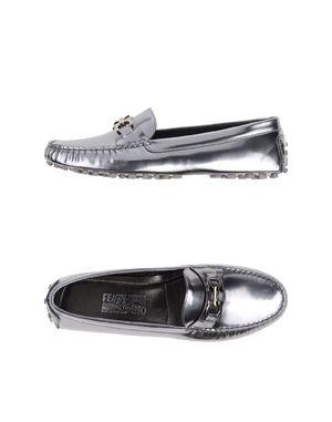 银色 SALVATORE FERRAGAMO 船鞋