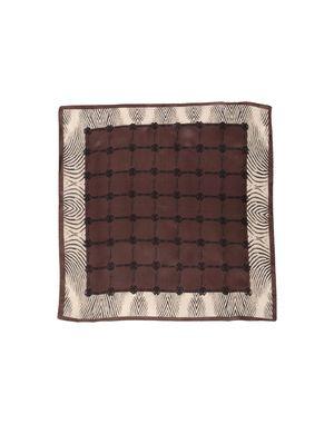 深棕色 ROBERTO CAVALLI 方巾