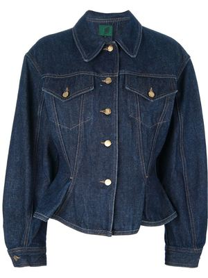 JEAN PAUL GAULTIER VINTAGE fitted denim jacket