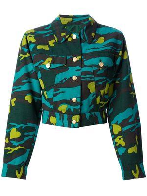 JEAN PAUL GAULTIER VINTAGE heart print camouflage jacket