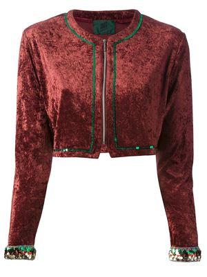 JEAN PAUL GAULTIER VINTAGE velvet jacket