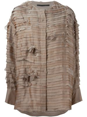 HAIDER ACKERMANN Flora Thallium Shirt Jacket