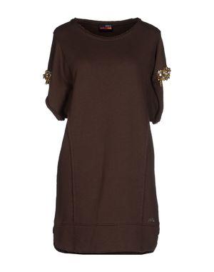 深棕色 MET MIAMI COCKTAIL 短款连衣裙