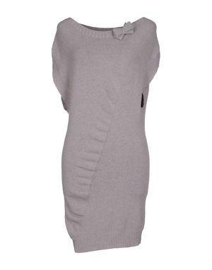 鸽灰色 HANITA 短款连衣裙