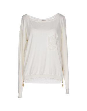 象牙白 ...À_LA_FOIS... 套衫