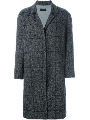PIAZZA SEMPIONE checked coat