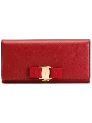 SALVATORE FERRAGAMO 'Miss Vara' long wallet