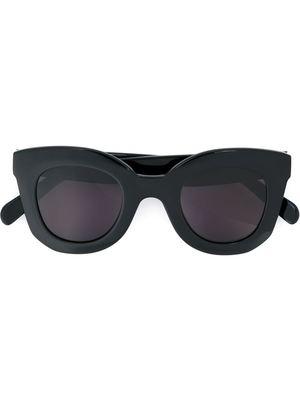 CELINE thick round frame sunglasses