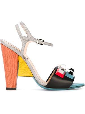 FENDI jewelled sandals