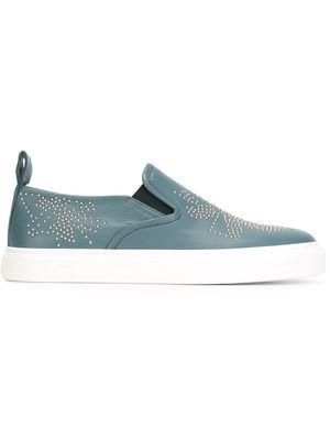 CHLOE studded slip-on sneakers