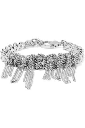Knotted Chain 银色手链