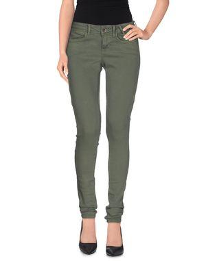 军绿色 GUESS 牛仔裤