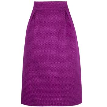 Carolina Herrera 紫色半身裙