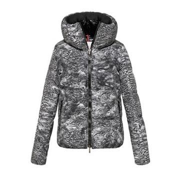 Moncler 水墨纹尼龙短款外套