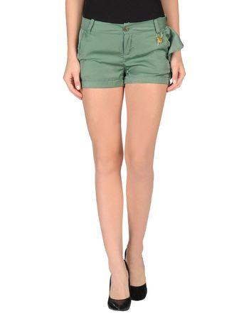 军绿色 PHARD 短裤