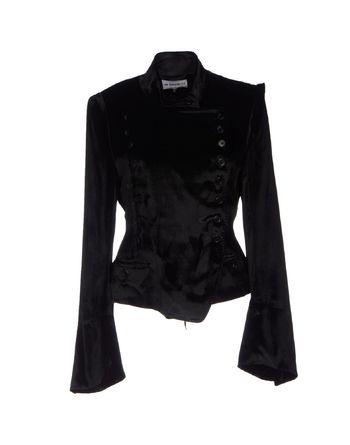 黑色 ANN DEMEULEMEESTER 夹克