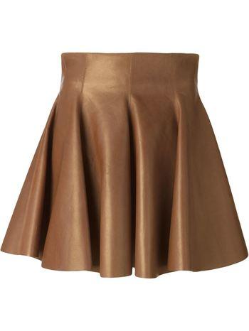 PLEIN SUD pleated skirt