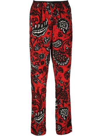 VANESSA BRUNO floral print relaxed fit trousers