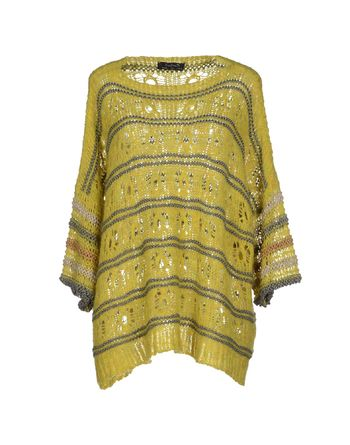 黄色 KRISTINA TI 套衫