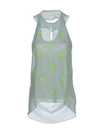 浅绿色 KRISTINA TI 上衣