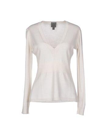 白色 CK CALVIN KLEIN 套衫