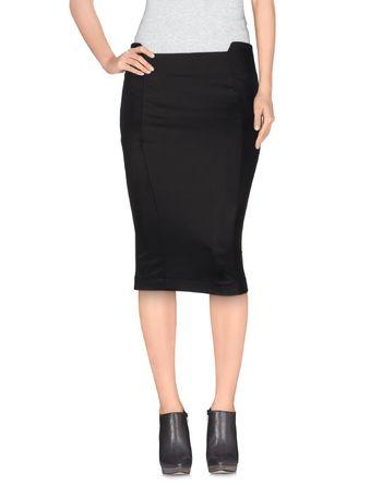 黑色 PATRIZIA PEPE SERA 及膝半裙