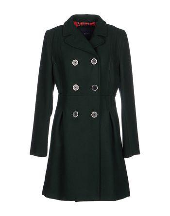 深绿色 GANT 大衣