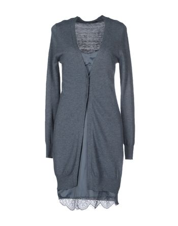 石青色 NOSHUA 短款连衣裙