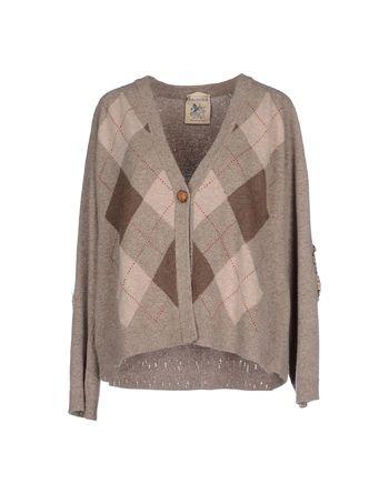 鸽灰色 SEMI-COUTURE 针织开衫