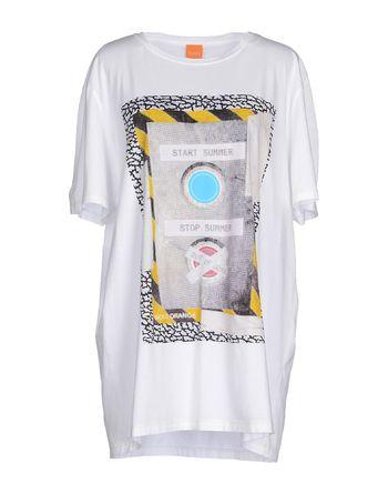 白色 BOSS ORANGE T-shirt