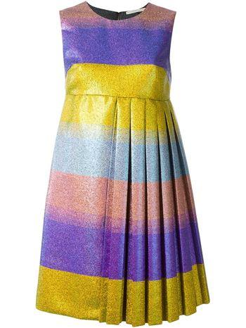 MARCO DE VINCENZO floral flared midi dress