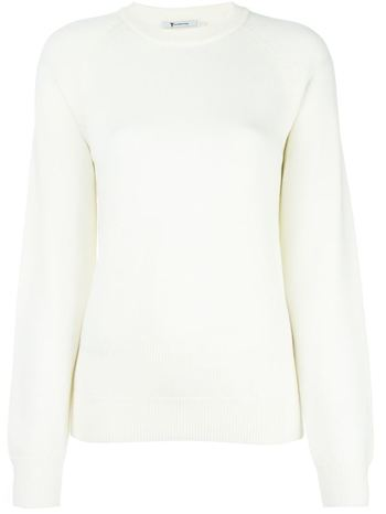T BY ALEXANDER WANG cut-out back sweater