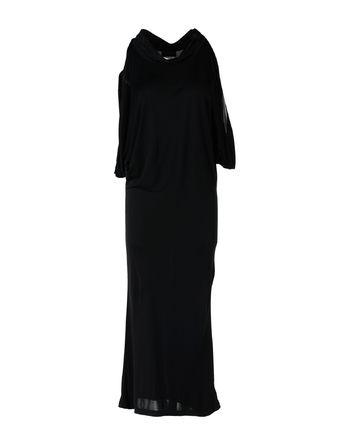 黑色 JOHN RICHMOND 长款连衣裙