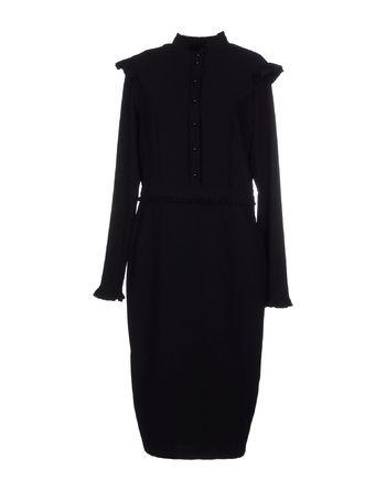 黑色 IMPERIAL 及膝连衣裙