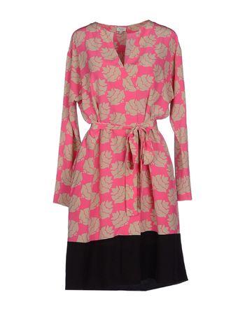 浅紫色 HOSS INTROPIA 及膝连衣裙