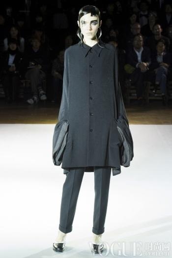 Yohji Yamamoto2015秋冬时装秀
