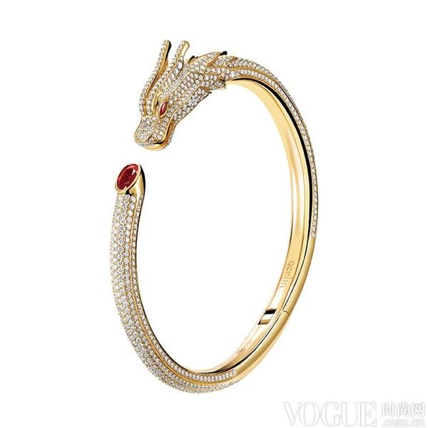 设计出最新的king & queen龙凤系列高级珠宝.